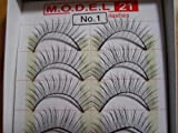 MODEL 21 False fake No. 1, 1A, 2, 3, 4, 5A, 5B, 6A OR 6B Eyelashes 10 Pairs