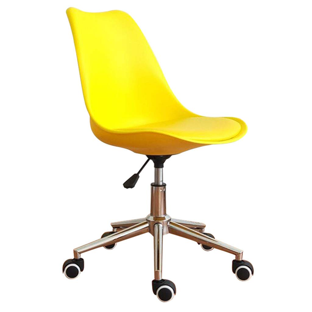 B07PZ5KMD7 Yellow パーソナライズされたオフィスチェア/シンプル ...