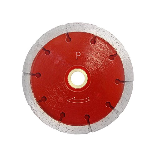 Premium 4.5'' x .375'' Sandwhich Diamond TRIPLE Blade 10mm Tuckpoint Cutter Saw