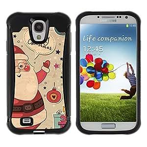 Suave TPU GEL Carcasa Funda Silicona Blando Estuche Caso de protección (para) Samsung Galaxy S4 IV I9500 / CECELL Phone case / / Merry Christmas Winter Gifts Ho /