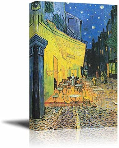 Print Cafe by Vincent Van Gogh Reproduction