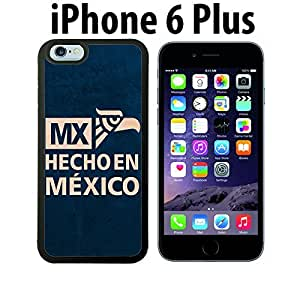 Mexican Pride Hecho En Mexico Custom made Case/Cover/skin FOR iPhone 6 Plus - Black - Rubber Case ( Ship From CA) by runtopwell