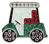 Navika Golf Cart Swarovski Crystal Ball Marker with Hat Clip