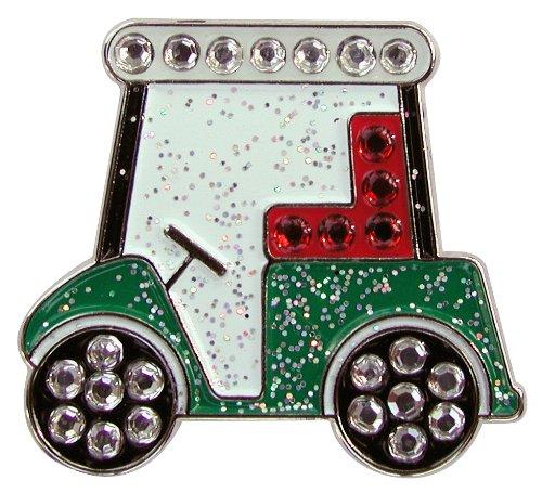 - Navika Golf Cart Swarovski Crystal Ball Marker with Hat Clip