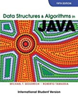 Data Structures and Algorithms in Java Front Cover