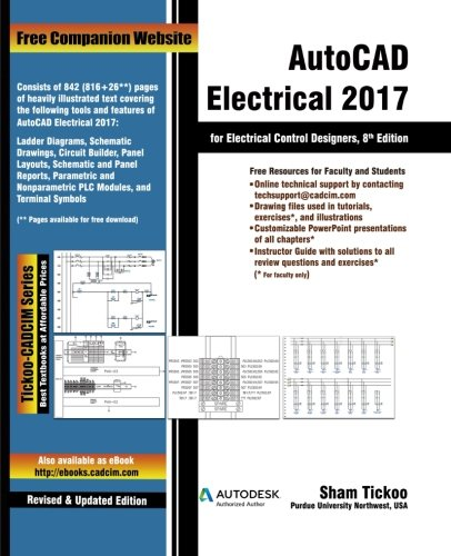 Autocad Electrical 2017 For Electrical Control Designers Prof Sham
