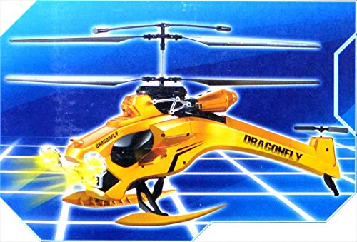 Dragonfly 3.5 Channel RC Radio Control Helicopter with Lights Christmas Toy Gift
