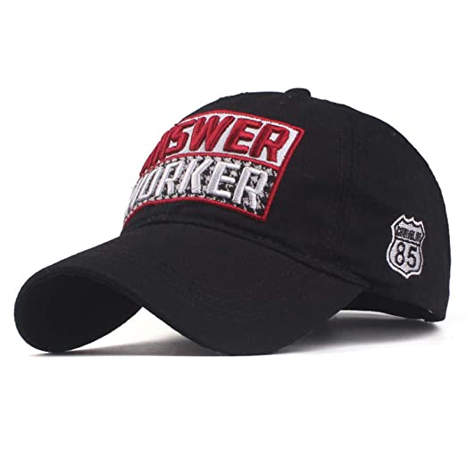 sdssup Gorra de béisbol Sombrero Bordado de algodón Sombrero de ...