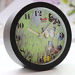 Silent Sweep Modern Graceful Bell Desk Creative Digital Alarm Clock
