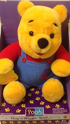 Disneys Hug N Wiggle Winnie The Pooh 11  Talking Plush