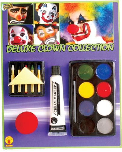 [Deluxe Clown Make-Up Kit] (Clown Around Makeup Kit)