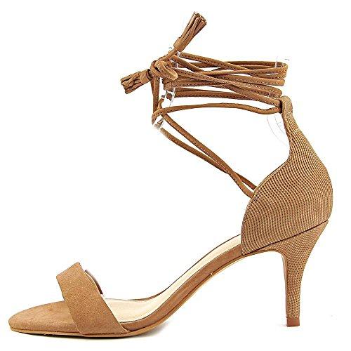 Vince Camuto kathin vestido sandalias de la mujer Amendoa Nubuck/Pointed Nubuck