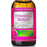 BEST Vitamin C Serum For Face With Hyaluronic Acid, 20% C + E Professional Beauty Topical...