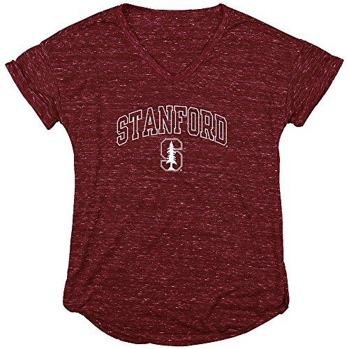 Stanford Cardinal Womens Vneck TShirt Cardinal - M