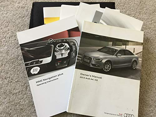 2013 Audi A4 / S4 Owners Manual