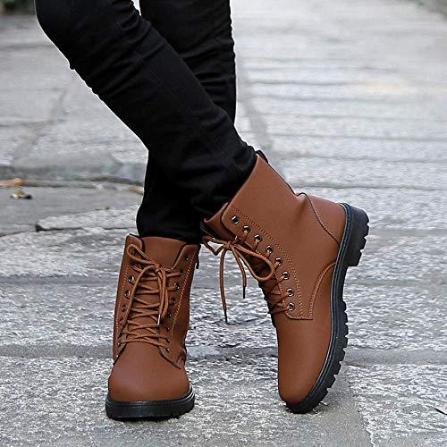 Up Regalo Giallo Inverno Scarpe Da Sportive Boots Stivali Sneakers Autunno Caldo Uomo Moda Velluto Natale Leather Antiscivolo Corsa Oyedens Ispessimento Lace SHqazpRH