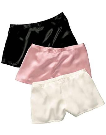 f8f8b4cee1c JASMINE SILK Women Classic Silk French Knickers Boxers Pink  Amazon.co.uk   Clothing