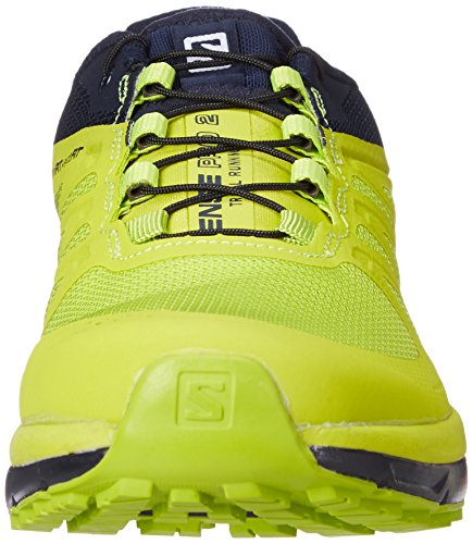Salomon Sense Pro 2, Scarpe da Trail Running Uomo Blu (Navy Blazer/Lime Punch/Lime Green)
