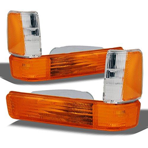 For 1991-1996 Dodge Dakota Front Bumper Turn Signal Parking Corner Lights Replacement