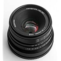 Hengyijia 35mm F1.8 (Black) HD.MC Manual Lens for Fujifilm FX X mount Camera