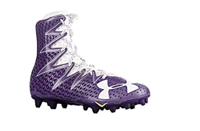 91b8869d5 Image Unavailable. Image not available for. Color  Under Armour UA  Highlight MC Purple-White Men s Football Cleats ...