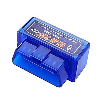 ... de vehículos estándar-Azul portátil Coche Auto diagnóstico escáner Herramienta de Coche de Error Detector de Coches: Amazon.es: Deportes y aire libre