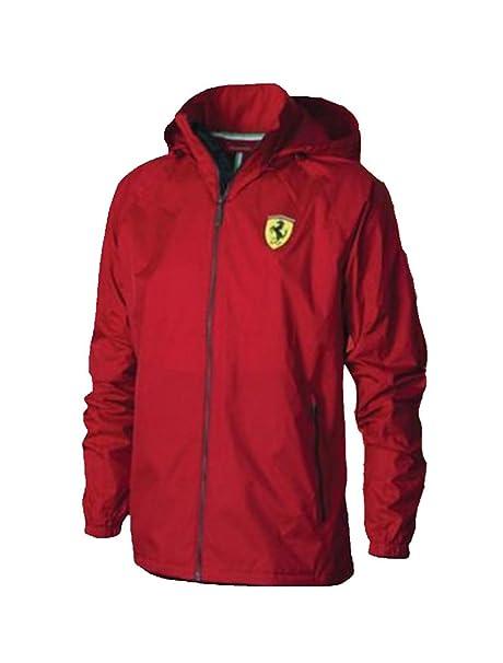 Ferrari - Chaqueta Impermeable - Parka - para Hombre Rojo ...