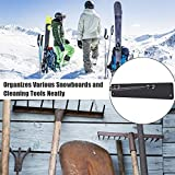 unho Ski Board Wall Mount, Snowboard Wall Storage