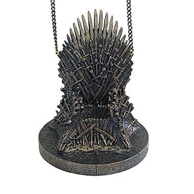 Kurt Adler Game of Thrones Resin Throne Ornament, 4.25