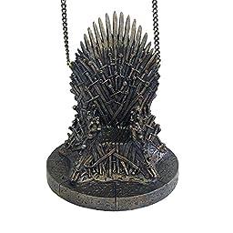 Kurt Adler Game of Thrones Resin Throne Ornament, 4.25\