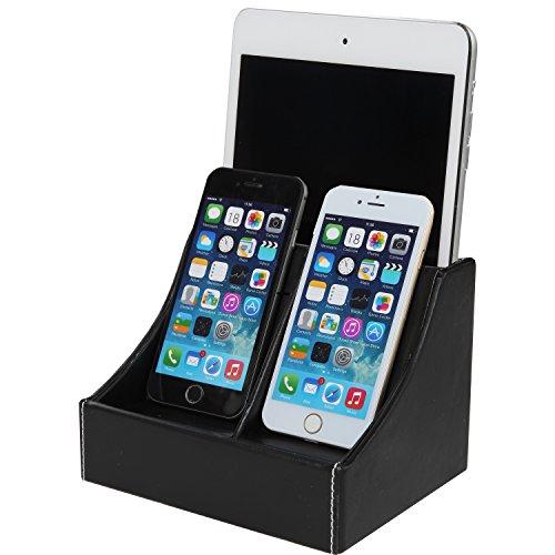trenton-faux-leather-charging-station-multi-device-charging-dock-desktop-organizer-for-smartphones-b