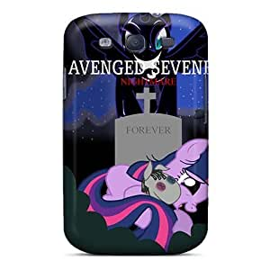 Shock Absorption Hard Cell-phone Cases For Samsung Galaxy S3 With Support Your Personal Customized Attractive Avenged Sevenfold Image AaronBlanchette