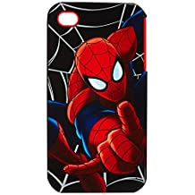 Spiderman iPhone 4/4s Case-Retail Packaging, Red