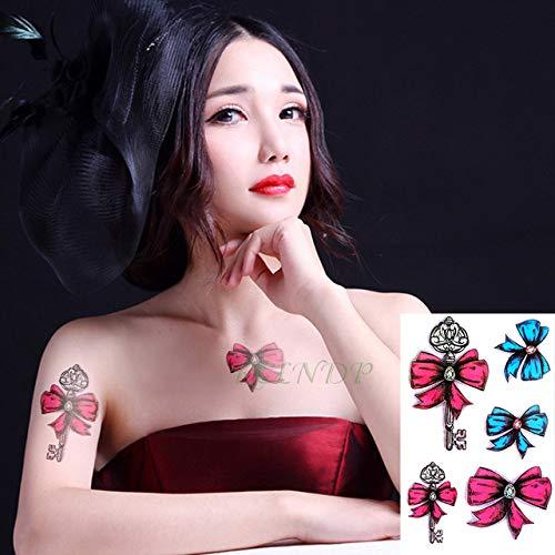 5pcs Impermeable del Tatuaje de los Labios Etiqueta engomada del ...