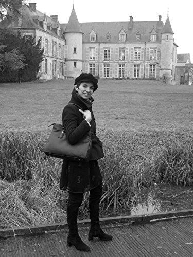 gd cuir femme Modèle Sac main Zenga Fonce à Cognac gd qxnwwYRa