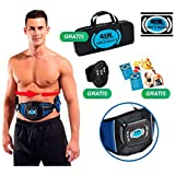 ABS A ROUND Toning Belt - 99 levels of intensity 6 programs and 594 different routines! 3 independent channels and 6 electrodes - Eliminate excess fat, toning and firming upper, lower and obliques abs