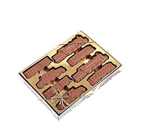 Baur Edelvollmilch-Schokolade Geschenkpackung Eisenbahn