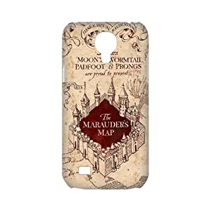 CTSLR Design Marauder's Map Harry Potter Protective 3D Hard Case Cover Skin for Samsung Galaxy S4 Mini-1 Pack- 4