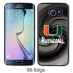 TriPack? NCAA Atlantic Coast Conference ACC Footballl Miami (FL) Hurricanes 5 Samsung Galaxy S6 Edge Case
