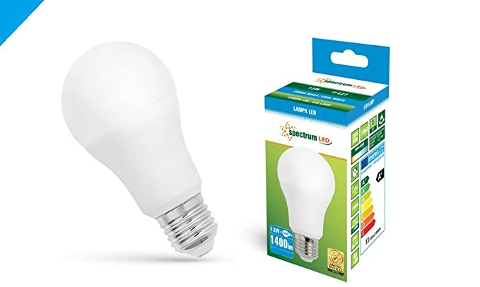 Espectro LED 13 W E27 bombilla (100 W bombilla incandescente equivalente) blanco fresco (