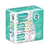 Huggies Cuidado Puro, Toallitas Húmedas para Bebé, Paquete con 240 piezas (3 paquetes de 80 toallitas c/u)