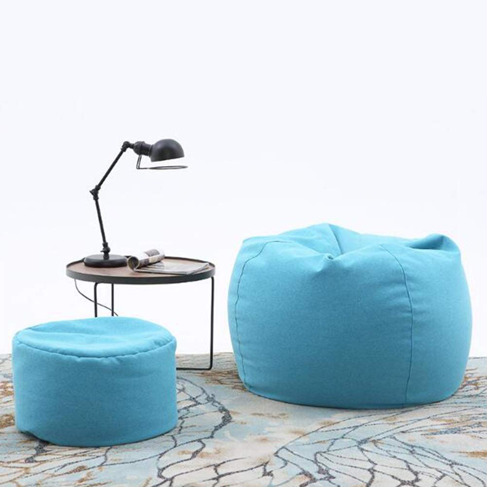Amazon.com: YQQ-Lazy Sofa Bean Bag High Back Chair and ...