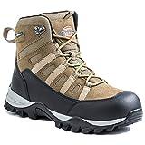Dickies Men's Escape Hiker 6 Inch Steel-Toe Work Boot,Brown,10.5 M US