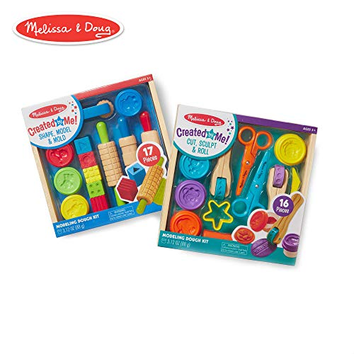 (Melissa & Doug Clay Play Activity Set With Sculpting Tools and 8 Tubs of Modeling Dough (Arts & Crafts, 2 Complete Kits) )
