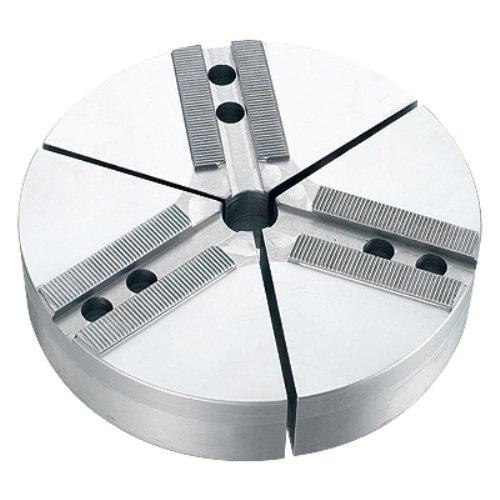 TAIKI 3900-5700 3 Piece Soft Round Aluminum Pie Jaw Set, 1.5 mm x 60 Degree Serrations, 10