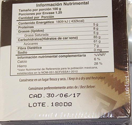 Amazon.com: Chocolate Mayordomo El Oro De Oaxaca Premium 100% Natural De Oaxaca Mexico 125 Grms: Health & Personal Care
