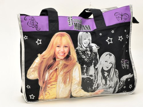 Walt Disney Hannah Montana Carryout Purse and Mickey Mouse 200 Piece Stickers Set