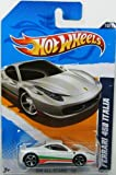 Hot Wheels 2012 All Stars Ferrari 458 Italia White Card 130
