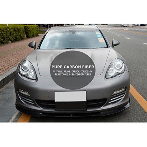 jcsportline de fibra de carbono delantero Chin Spoiler para Porsche Panamera 2009 - 2011: Amazon.es: Coche y moto