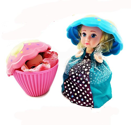2 Pack Transform Cupcake Doll with Surprise,Scented Mini Princess Dolls,Magic Gift Toys for 3 Year Old Girls (2 Pack) (Christmas Gift Baskets Denver)